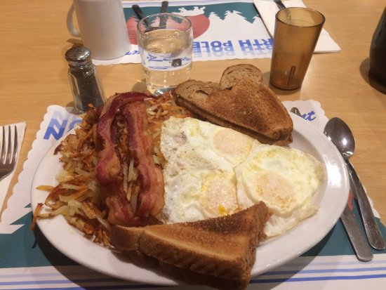 Newport, MN: Morning breakfast. Comes with a small juice of your choice.