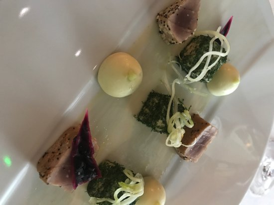 Lumio, France: Amazing concoction for the three course discovery taster menu