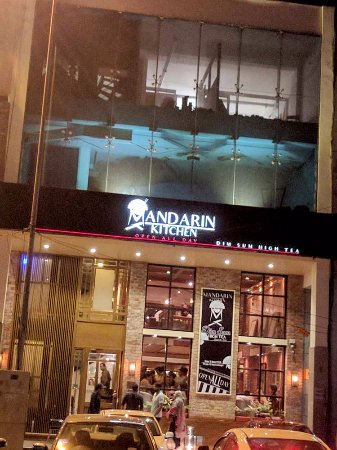 Front Of The Restaurant - Picture Of Mandarin Kitchen, Lahore