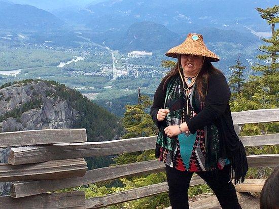 Sechelt, Canada: #TalkingTreesTours at the #SeaToSkyGondola, Squamish, BC