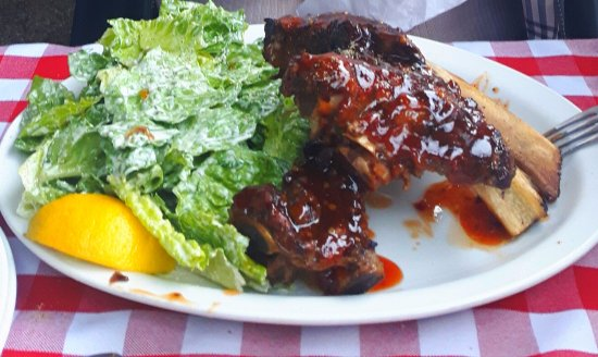 Sechelt, Canada: Beef Ribs Special