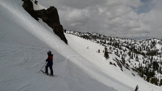 Olympic Valley, Californië: Granite Chief backside