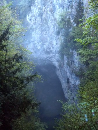 South Moravian Region, Czech Republic: Pohled z dolního můstku.