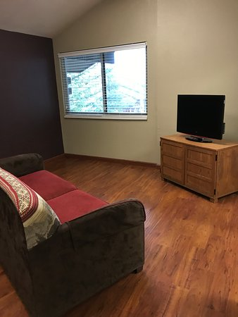 Blanchard, ID: TV room if you want to watch something else!