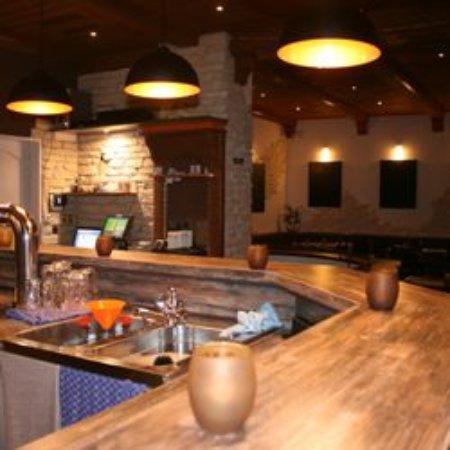 Hattersheim, Germania: Gemütliche Bar bzw angenehmes Restaurant
