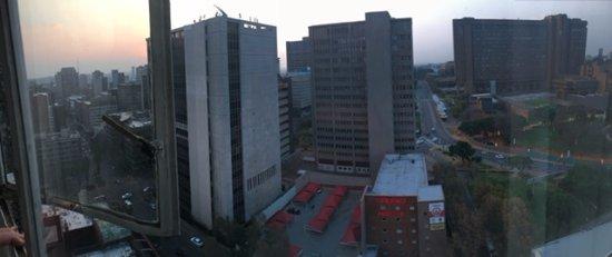 Braamfontein, Sudáfrica: Sunset view