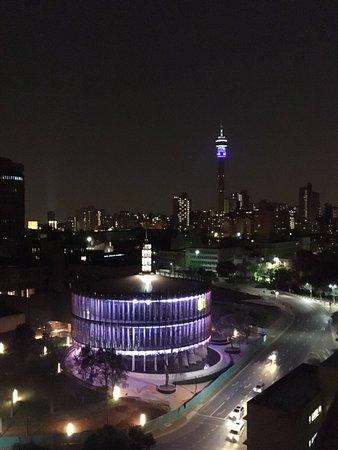 Braamfontein, Sudáfrica: Night view
