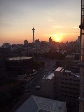 Braamfontein, Sudáfrica: Sunrise view