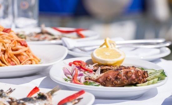 Porto Koufo, Greece: mediterranean taste