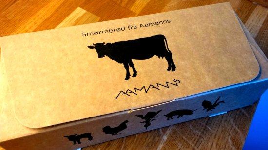 Aamanns Deli & Take Away : Boite de smørrebrød