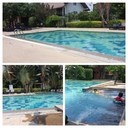 pool (three angles show all of it) - Picture of Sukhothai