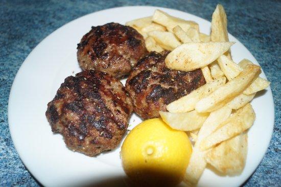 Agia Fotia, Grekland: meat balls