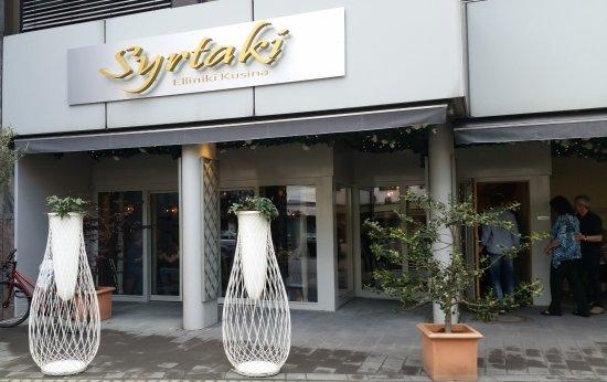 syrtaki au enansicht picture of syrtaki koblenz tripadvisor. Black Bedroom Furniture Sets. Home Design Ideas