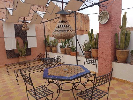 Maison Arabo Andalouse: Magnifica terrazza