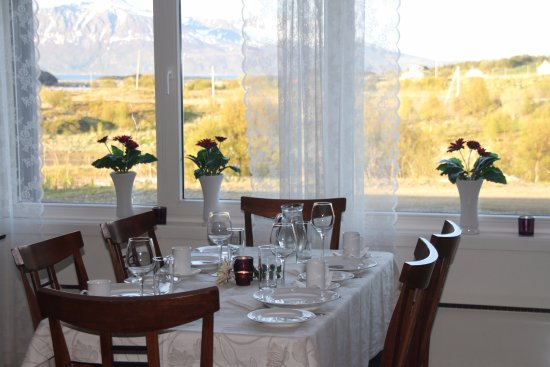 Harstad, Norway: Valhalls restaurant.
