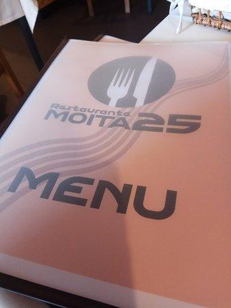 Anadia, Portugal: menu