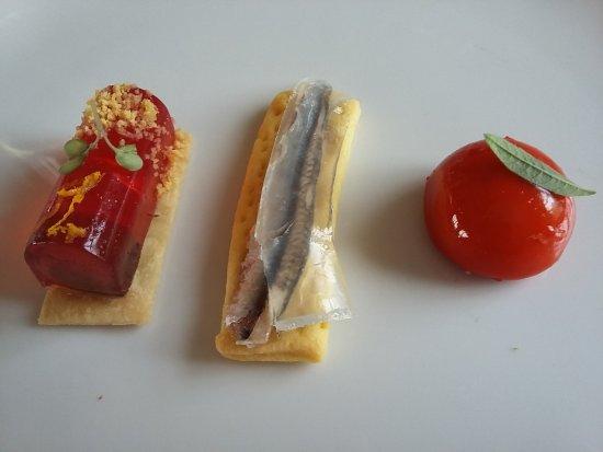 Monta, Italy: Gruss aus der Küche