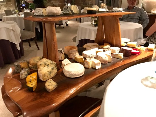 Longueville Manor: The cheeseboard