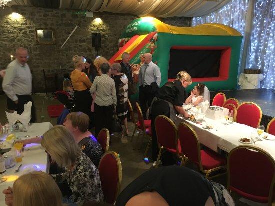 Portglenone, UK: Bouncy Castle