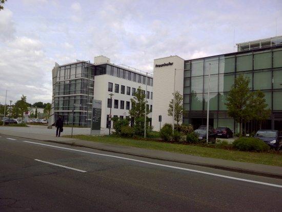 Fraunhofer picture of kaiserslautern rhineland for Design hotel zollamt