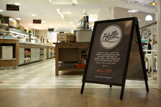 Tillicoultry, UK: Welcome to the Mill Cafe