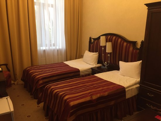 Pushkin Hotel: Our twin room