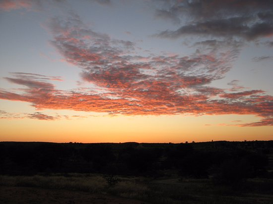 Upington, Güney Afrika: sunrise Kgalagai TFP
