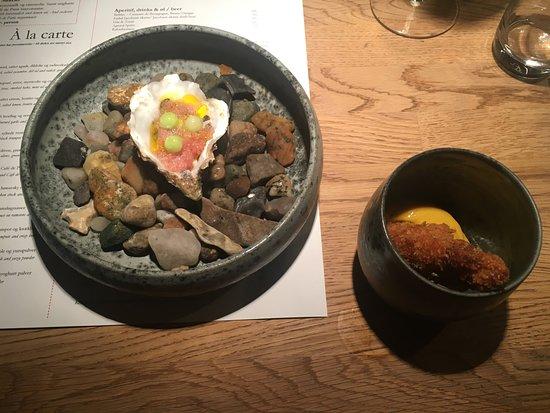 Restaurant Cofoco: Ostryga