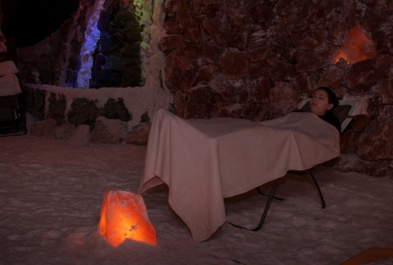 Glyfada, Grecia: Salt Therapy