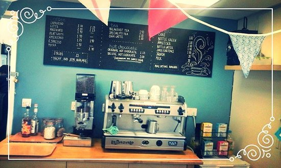 Bromyard, UK: High quality coffee and tea served by friendly staff