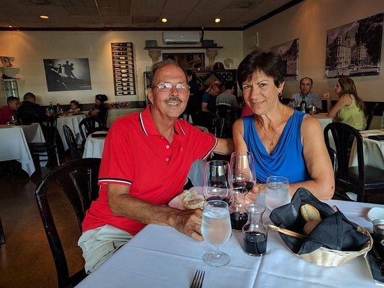 Oakland Park, FL: Enjoying dinner at Las Pampas Argentinian Restaurant.