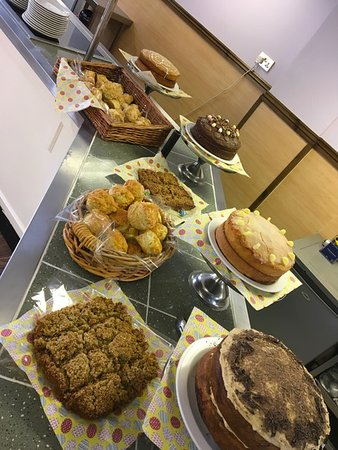 Princetown, UK: All our homemade cakes