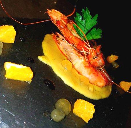 Pinocchio Italian restaurant & Wine bar : king prawns