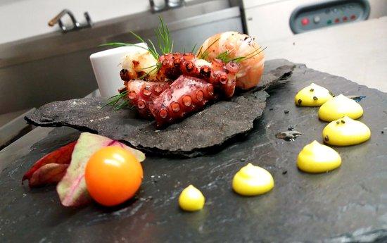Pinocchio Italian restaurant & Wine bar : octopus
