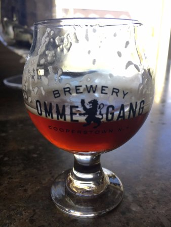 Cooperstown, NY: Brunetta (you are able to take the glass home)