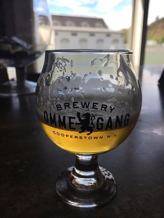 Brewery Ommegang: Witte (you are able to take the glass home)
