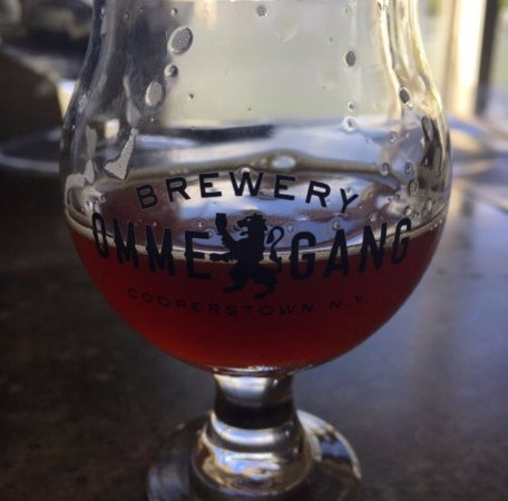 Cooperstown, NY: Three Philosophers (you are able to take the glass home)