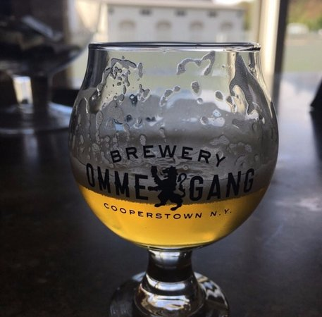 Brewery Ommegang: Nirvana IPA (you are able to take the glass home)