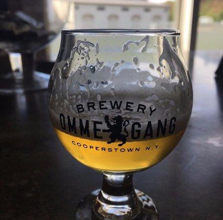 คูเปอร์สทาวน์, นิวยอร์ก: Nirvana IPA (you are able to take the glass home)