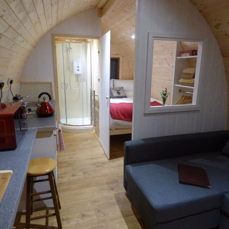 Mosedale End Farm Bed and Breakfast & Glamping Pod: Glamping Pod at Mosedale End Farm
