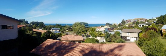 Kaiteriteri, New Zealand: View from our room.