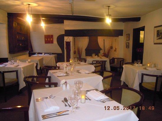 Llanarmon DC, UK: Dining Room