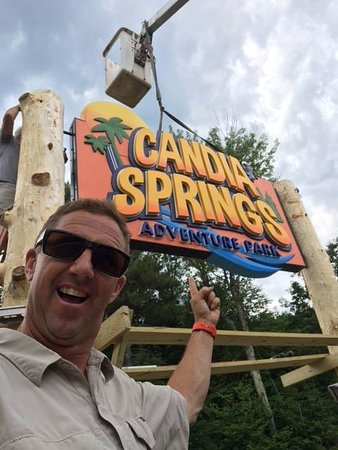 Candia, NH : Our new sign installation