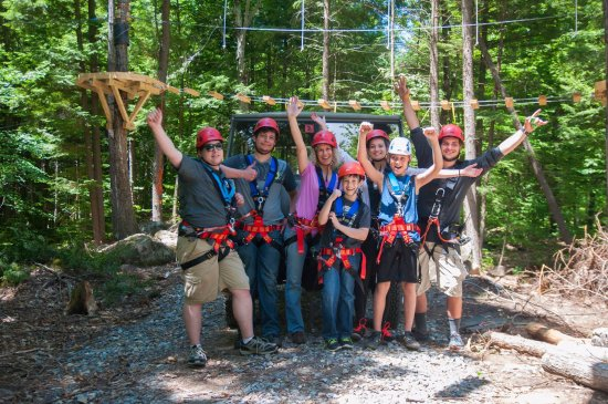 Candia, NH : Celebrating with the pinzgauer and pod 1 in the background