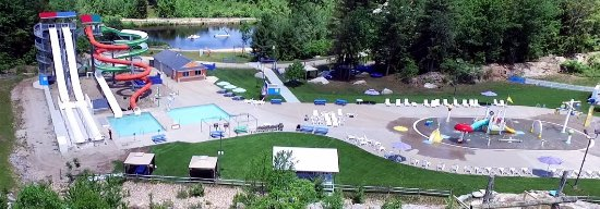 Candia, NH : Aerial picture of the park.