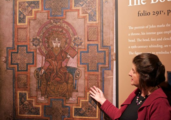The Book of Kells and the Old Library Exhibition: The Book of Kells Exhibition