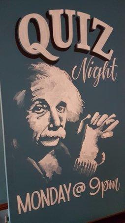 Worsley, UK: quiz night every monday