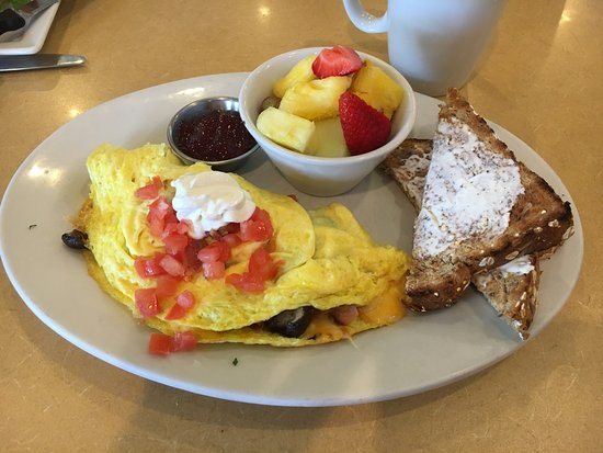 "First Watch Restaurant: The ""Works"" omelet"