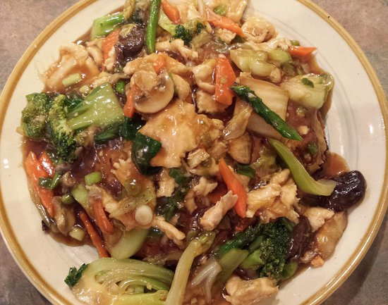 eC's Asian Station: Egg foo young (smothered in chicken and veggies)