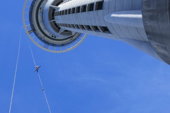 SkyJump and SkyWalk: Thumbs up for this great experience!